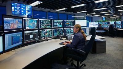 BHP Computer Center, Australia